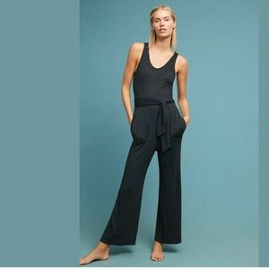 Anthropologie Cloth & Stone Black Jumpsuit XL